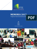 Memoria del Programa Transversal de Educación de la Universidad de Chile 2017