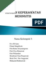 PPT Askep Meningitis
