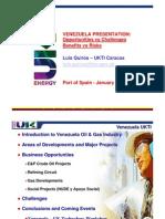 Venezuela Oil & Gas Presentation UKTI T&T Jan 2010