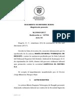 SL19556-2017 Pension Por No Afiliacion a Pension