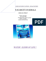 Water Scarcity in Kerala