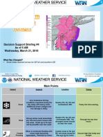 Winter Storm Briefing March 21, 2018
