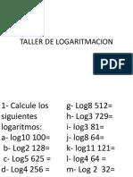 Taller de Logaritmacion