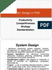 System Design in POM 1