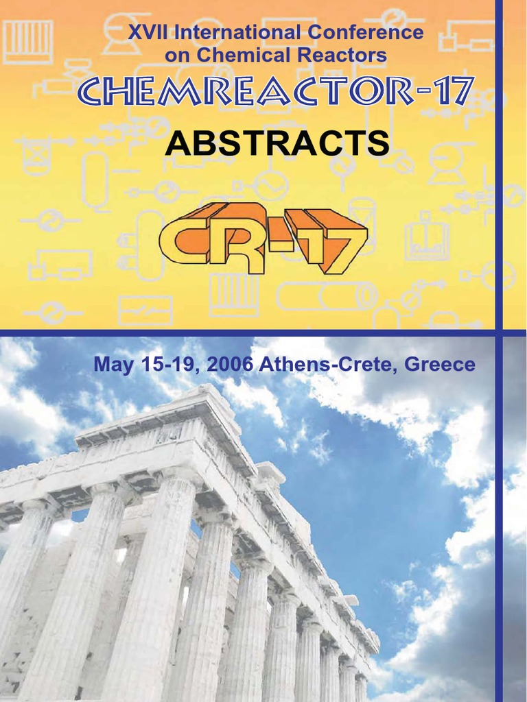 008 2006 abstracts chemreactor 17 greece catalysis chemical rh scribd com
