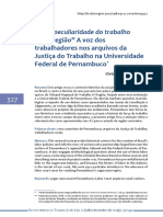 DABAT Trabajadores Rurales de Pernambuco Jsuticia de Trabajo