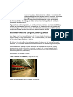 Sistemas Plan Ferroviario