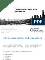 Downtown Circulator Presentation - 3-20-18