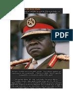 La Verdad Sobre Idi Amin Dada