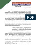Mulheres e legislação na cidade de Amélia Rodrigues