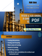 Water & Gas Coning in Horizontal & Vertical Well