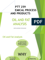 Oil & Fat Analysis