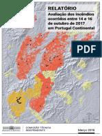 Relatorio Incêndios Outrubro 2017