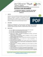 Directiva Apertura de Caja Chica