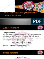 5-Advanced Engineering Mathematics-Laplace Transform