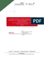 Modelamiento de La Cinetica de Bioadsorcion de Cr (III) Usando Cascara de Naranaja Dyna 2009