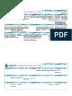 Lanterna Exam Timetable Template May 2018