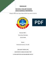 Cover Makalah Pancasila Dalam Kajian Sejarah Bangsa Indonesia