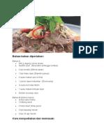 Resepi Salad Daging Thai