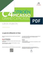 Manual Citroen C4 Picasso 2017