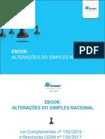 Alterações Simples Nacional - Econet