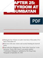 Chapter 25-Martyrdom at Bagumbayan