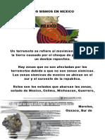 Los Sismos en Mexico