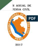 Plan Anual de Defensa Civil 2017