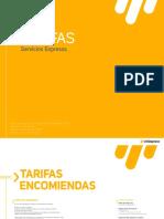 Tarifa Rio 2017
