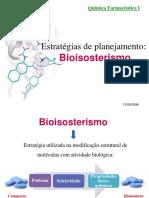 Bioisosterismo QUIMICA FARMACEUTICA