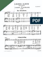 Lieder Album für die Jugend Robert Schumann
