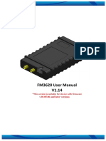 FM3620 User Manual v1.14