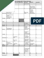 Academic Planner 2018