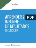 Reporte Nacional 2017 Secundaria