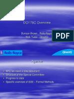 4. Tudor & Brown DO178C Presentation - RRQQ Apr 07 - V0.1