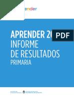 Reporte Nacional 2017 Primaria