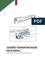 Diseño de Un Transportador Helicoidal 2