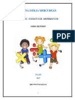 Jocuri Didactice Matematice PDF
