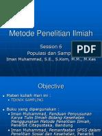 MPI Sess 6 7 Teknik Sampling
