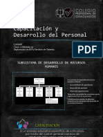 Capacitación y Desarrollo Del Personal