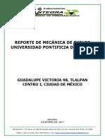 Reporte Universidad Pontificia