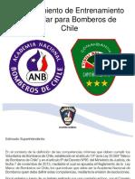 Procedimiento de Entrenamiento Estándar Para Bomberos de Chile