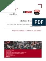 Les Français, Nicolas Sarkozy et la mobilisation des cheminots