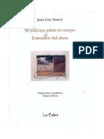58 Indicios Sobre El Cuerpo Extensic3b3n Del Alma