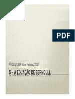 A Equação de Bernoulli
