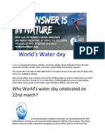 World's Water Day