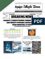 newspaper for website