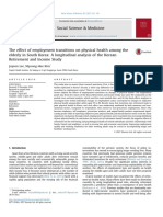The Effect of Employment Transitions on Physical Health Among the Elderly in South Korea_ a Longitudinal Analysis of the Korean Retirement and Income Study