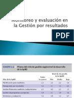 9. Monito y Evaluación Gestión Por Resultados