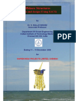 Analysis Design of Offshore Structures Using SACS